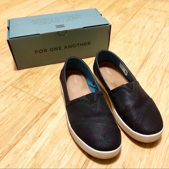 Toms Shoes | Toms Avalon Black Coated